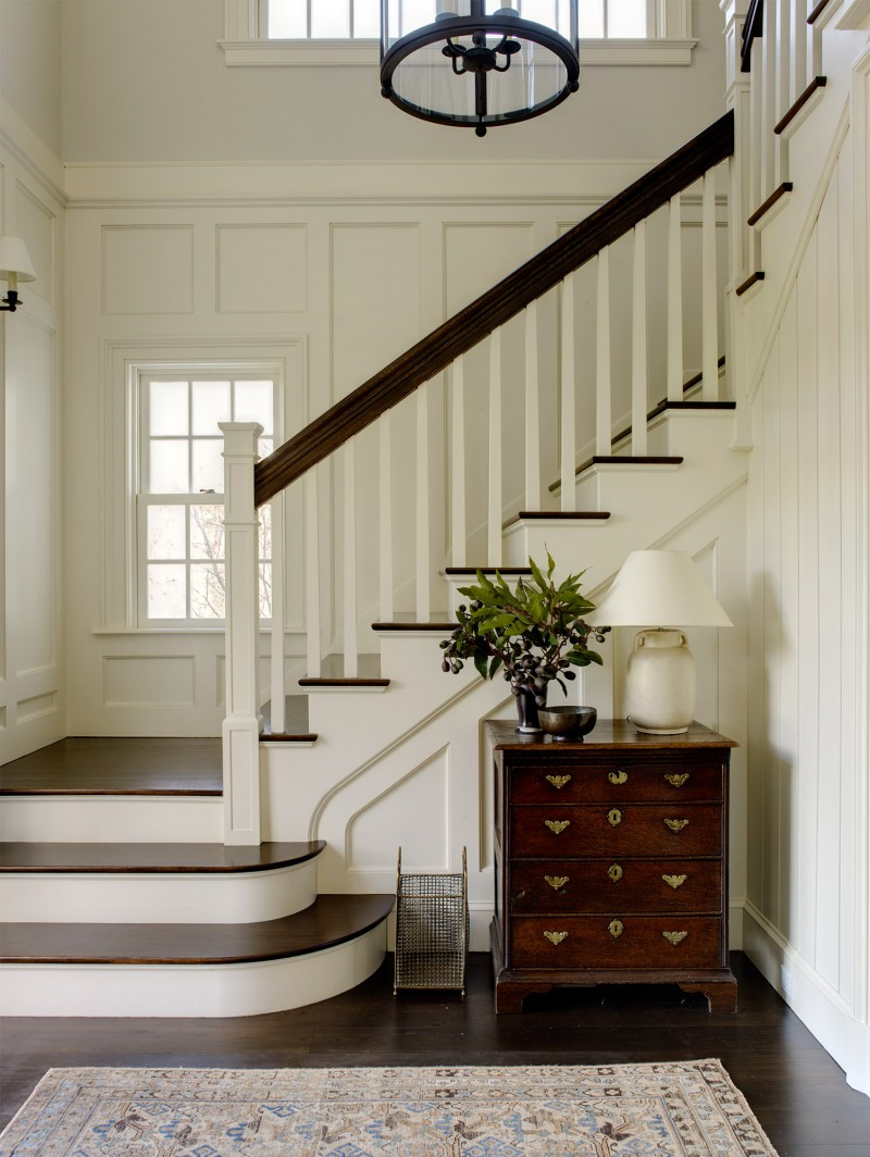 staircase entry hall natural light