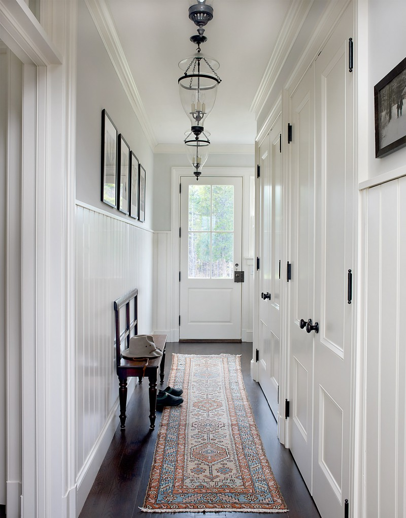 Historical architectural details custom doors and wainscoting