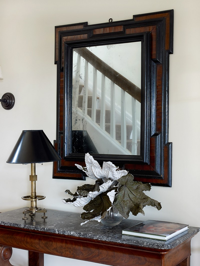 entry mirror renovation